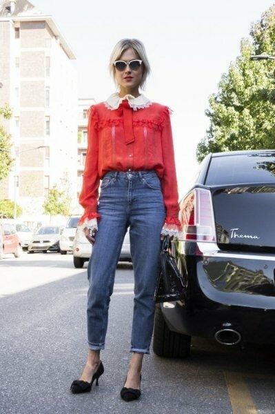 5 фасонов рубашек, которые преобразят на вас даже самые обычные джинсы