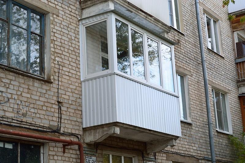 ремонт балкона лоджии
