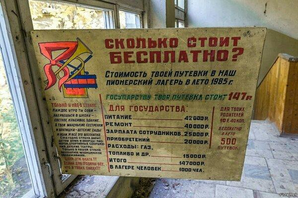 """Сколько стоило """"бесплатно"""" в Советском Союзе?"""