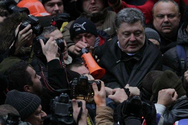 Украинцы созрели для свержения Петра Порошенко