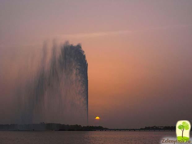 Фонтан Фахда - самый высокий фонтан в мире, Саудовская Аравия - 9