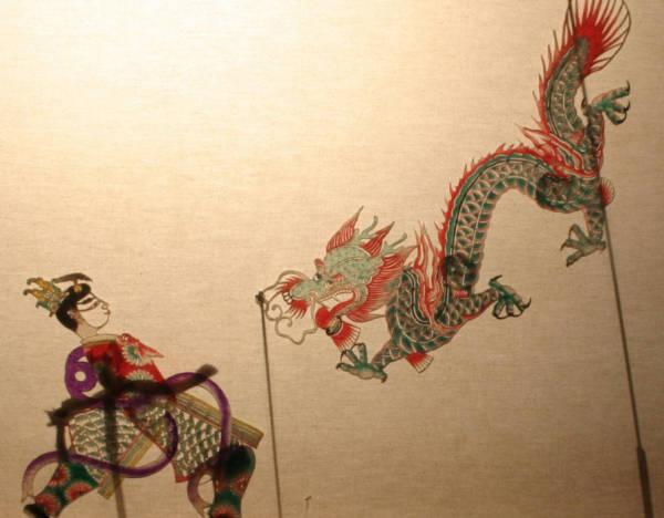 История танца в Китае (театр теней и кукол, часть 1)