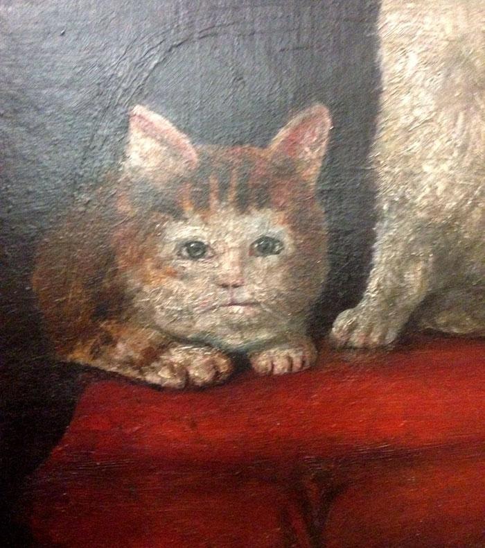 Уродливые коты на средневеко…