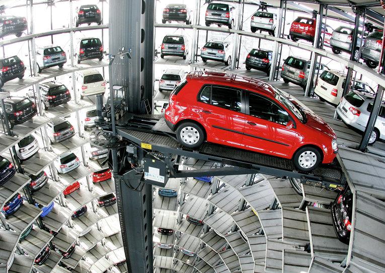 Борьба за место для автомобиля