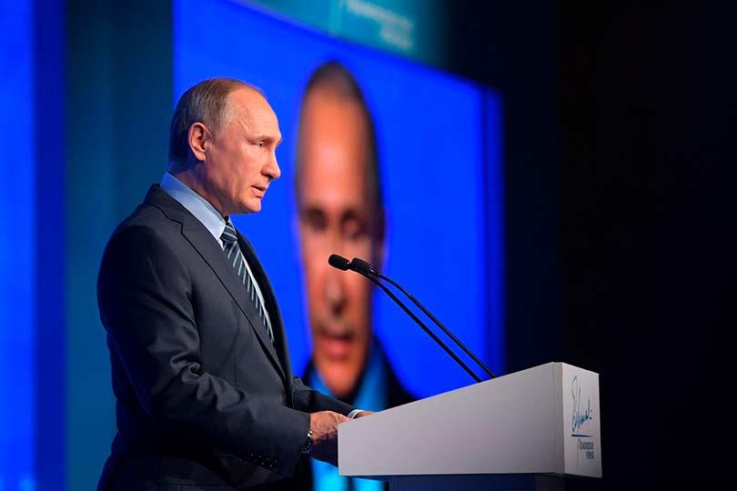 Путин впервые в послании к Ф…