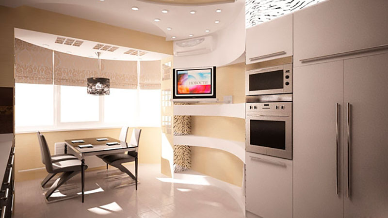 Ремонт кухни 9 кв м.