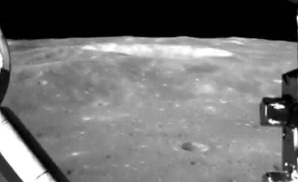Китай показал видеозапись с«Чанъэ-4» наобратной стороне Луны