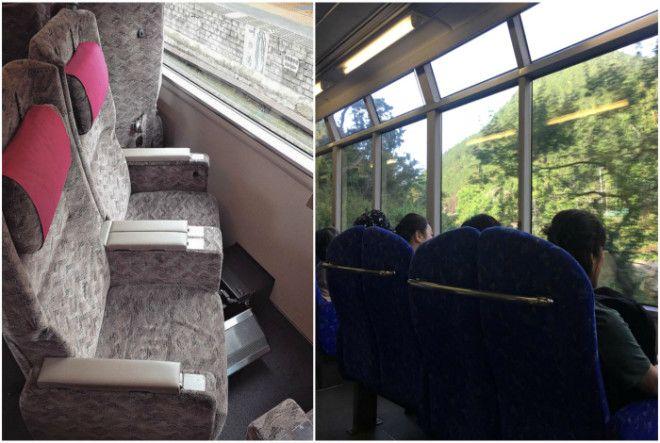 Поворотные сидения в поездах Фото Reddit Fishki