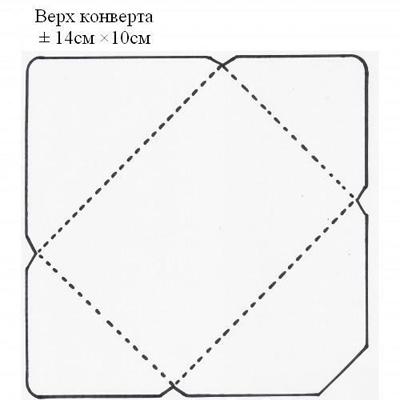 конверты скрапбукинг шаблоны