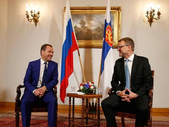 Медведев в Хельсинки заявил …