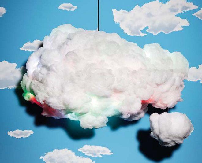 люстра облако для детской
