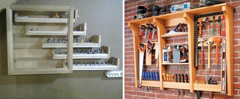 Шкафы для инструмента своими руками.