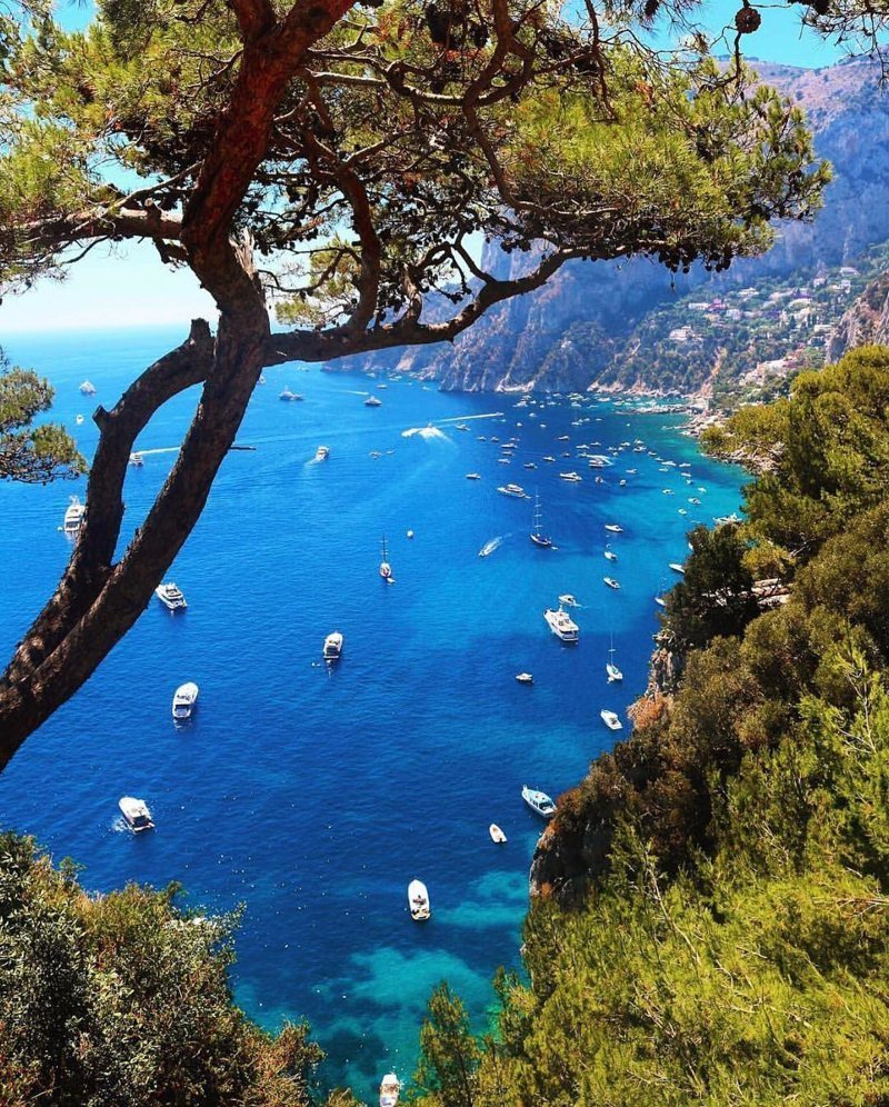 Capri, Italy красивые места, мир, планета, природа, путешествия