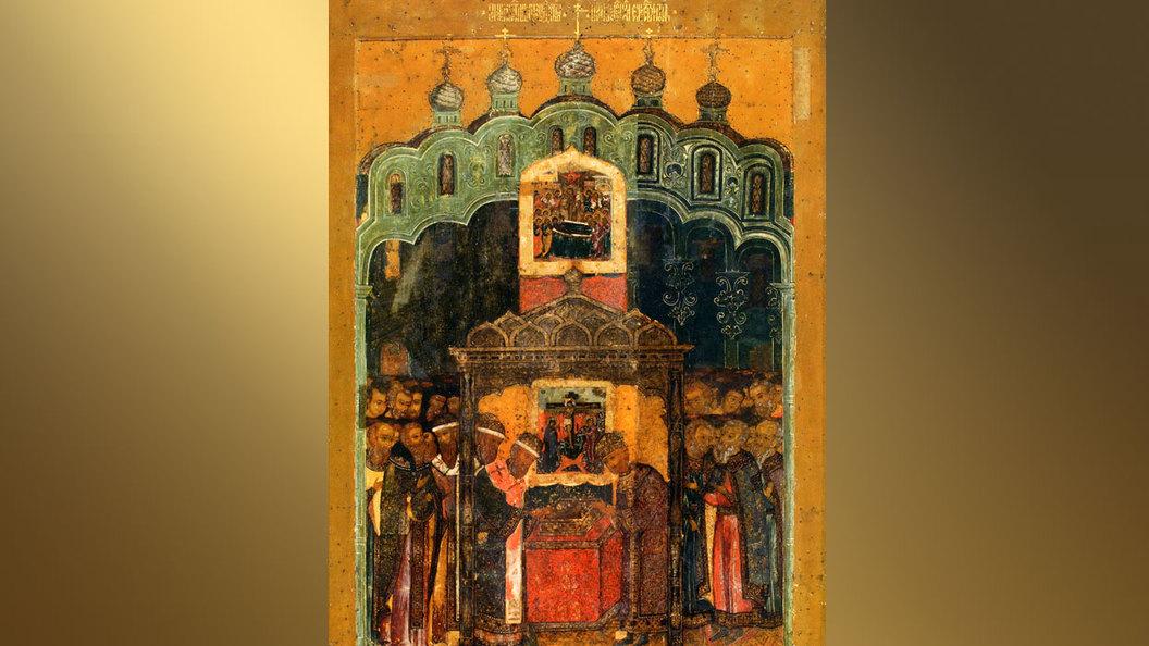 Положение Ризы Господней в Москве. Православный календарь на 23 июля