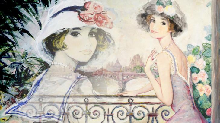 БЕРНАР ШАРУА и его картины на тему женского образа