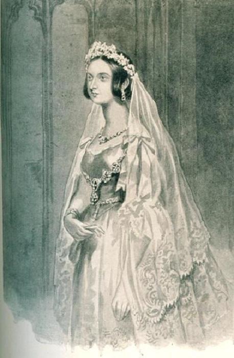 Свадебная мода прошлого  — в каких нарядах шли под венец принцессы