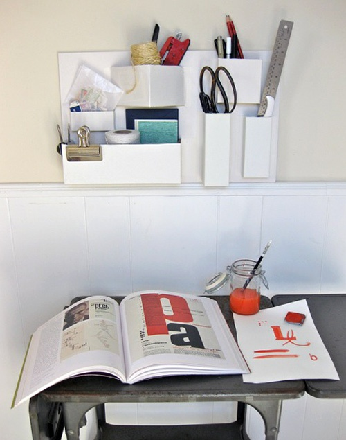 Коробочный органайзер на стену (Diy)