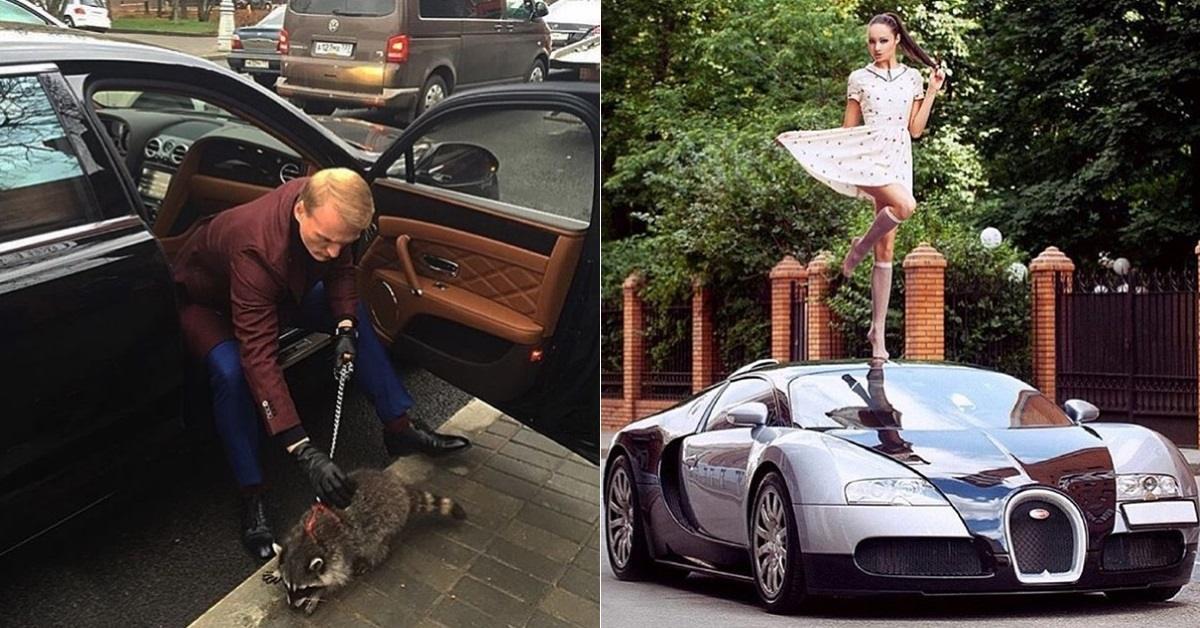 17 мгновений из жизни российской золотой молодежи. Неплохо устроились!