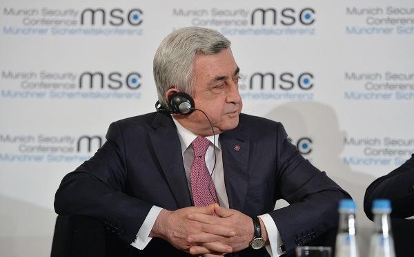 Саргсян: «Чтобы защитить себя, мыбыли вынуждены создать пояс безопасности»