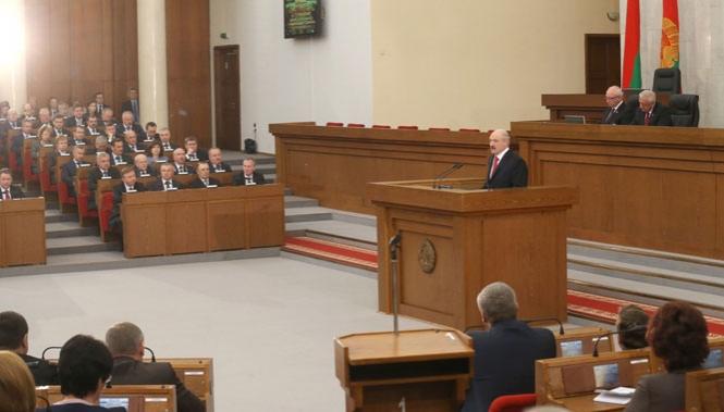 Обращение с ежегодным Посланием к белорусскому народу и Национальному собранию