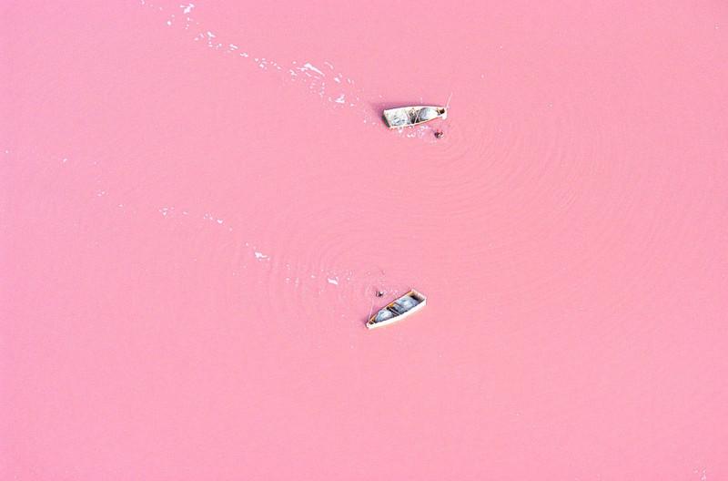 Розовое озеро Ретба в Сенегале в мире, красота, пейзажи, планета