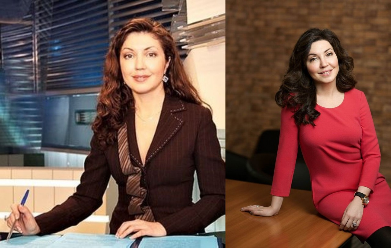 Мария Лемешева (46 лет) люди, телеведущие, телевизор, тогда и сейчас