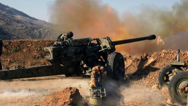 Игры в солдатики: военный блок против Асада