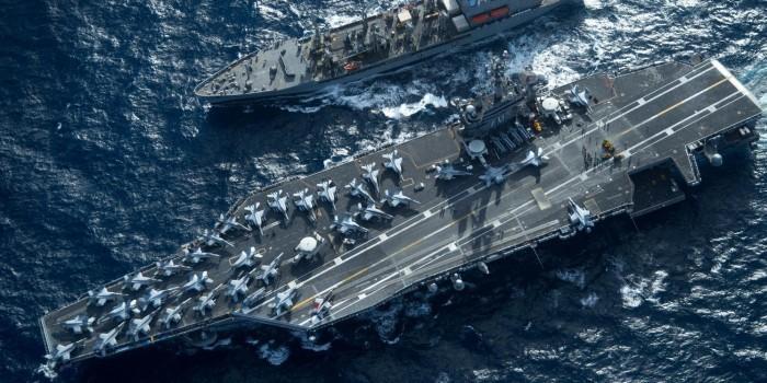 Россия обеспокоена активностью ВМС США в Северо-Восточной Азии