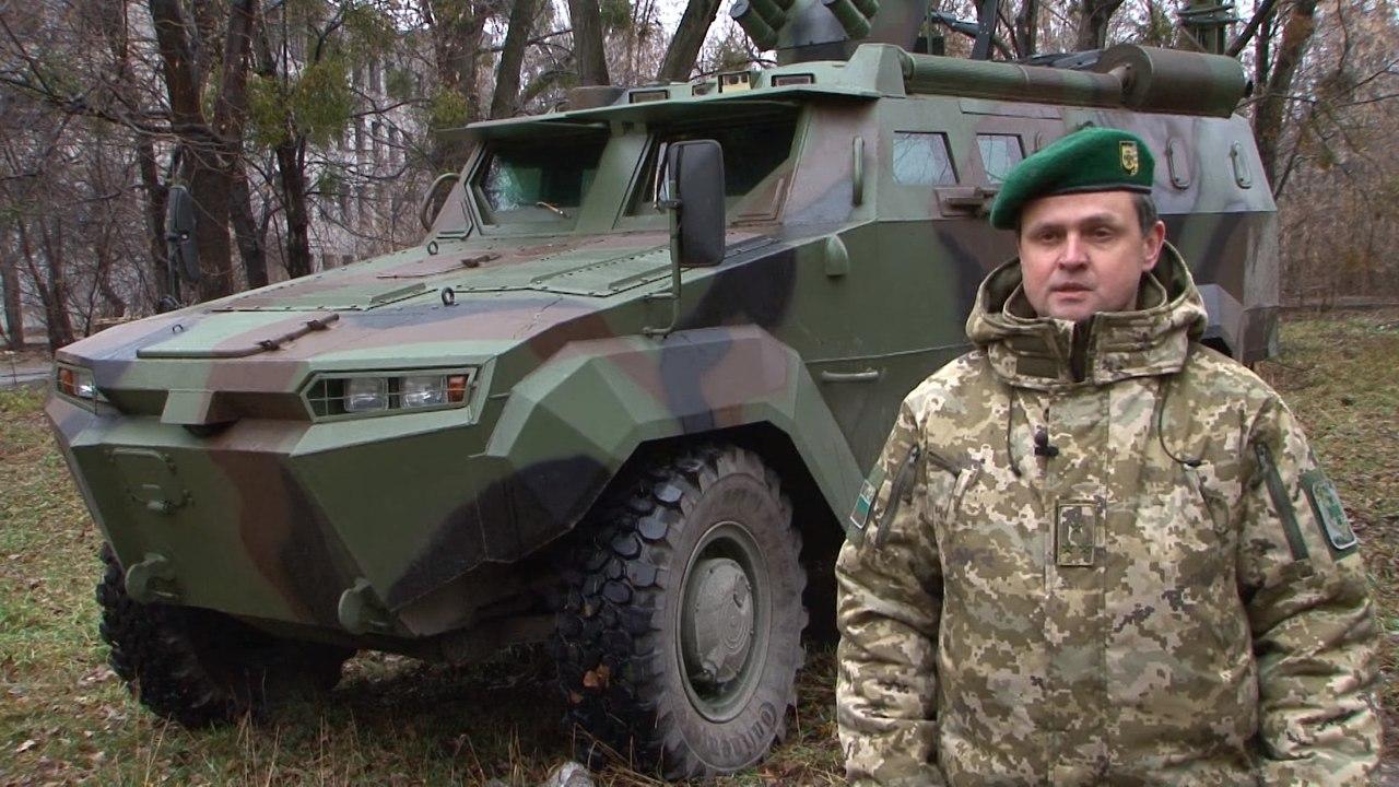 """Фиаско украинского бронеавтомобиля """"Тритон"""""""