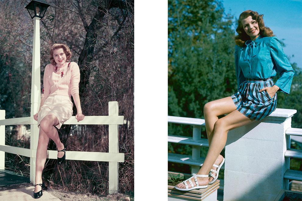 Как модницы прошлого носили высокие шорты