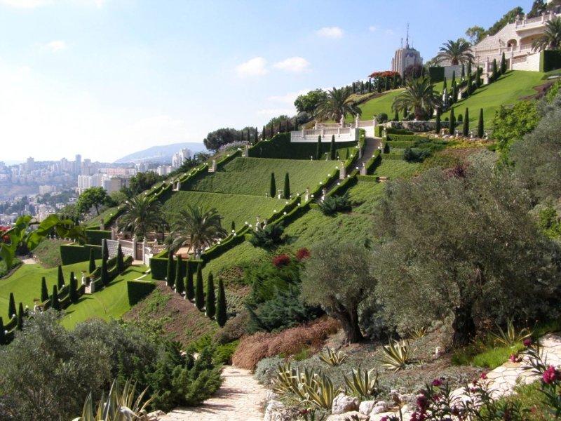 Одно из семи чудес света – Висячие сады Семирамиды