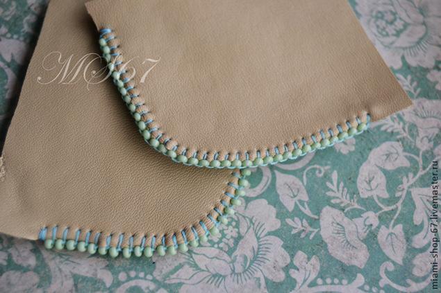 Вышивка бисером — МК как красиво обработать край изделия