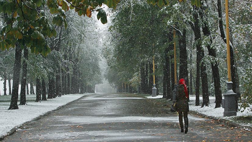 Синоптики прогнозируют предзимнюю погоду на следующей неделе