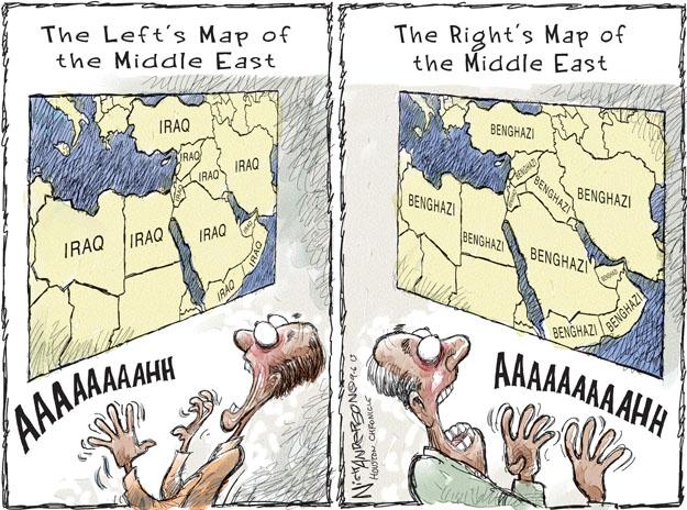 Тектонические сдвиги на Ближнем Востоке