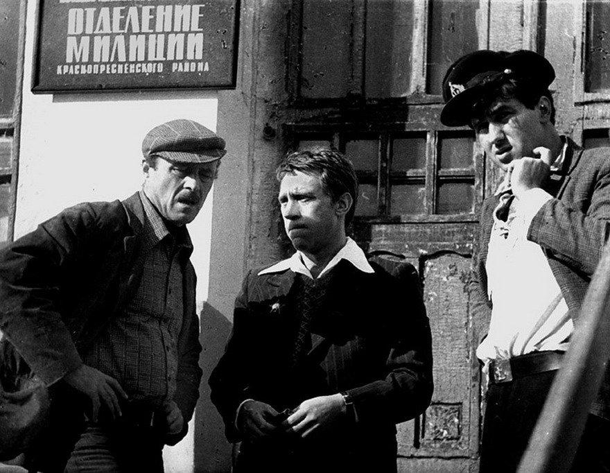 Фотографии со съемок известных советских фильмов