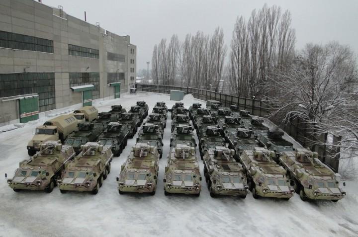 Хунта вынуждена отправлять на Донбасс технику снятую с длительного хранения