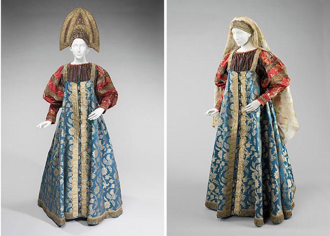 Русский народный костюм и текстиль из коллекции семьи Шабельских