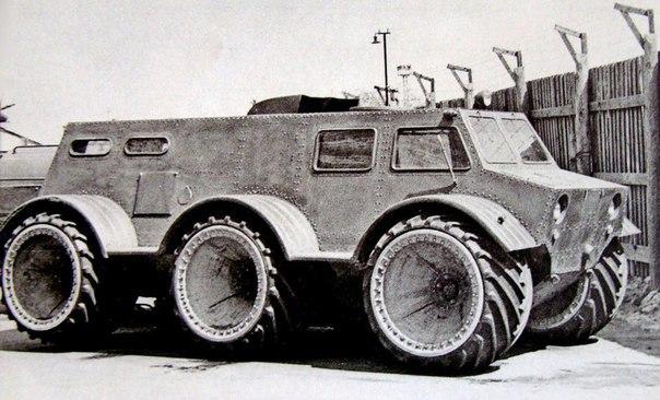 Экспериментальные советские вездеходы