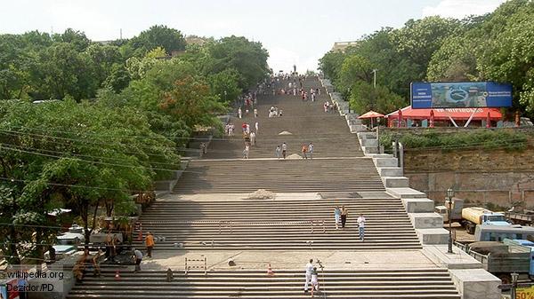 Потемкинская лестница Одессы