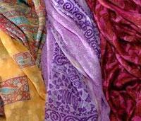 Как сделать дизайнерский платок (видео обучение)