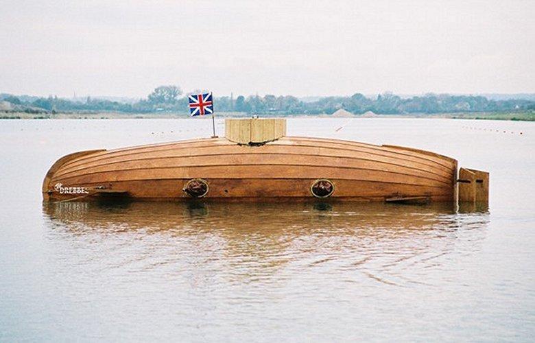 Великобритания создаст бесшумную субмарину на весельной тяге