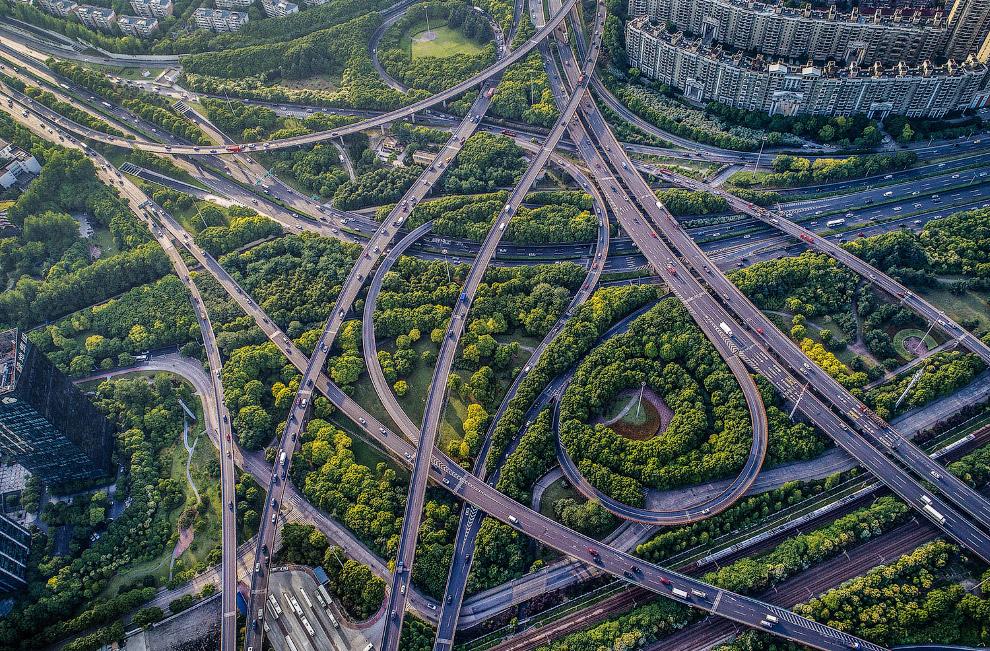 Эстакады в Шанхае
