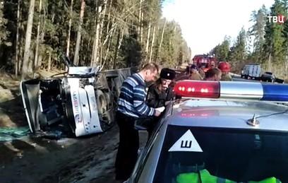 Пострадавших в ДТП в Подмосковье детей перевезли в Москву