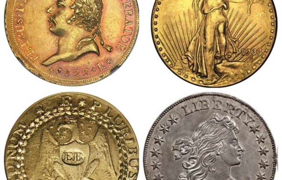 Самые дорогие монеты мира (7 фото)