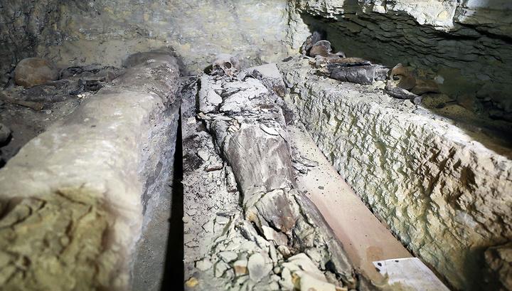 Тайны черного саркофага: ученым предстоит разгадать, кому принадлежат мумии