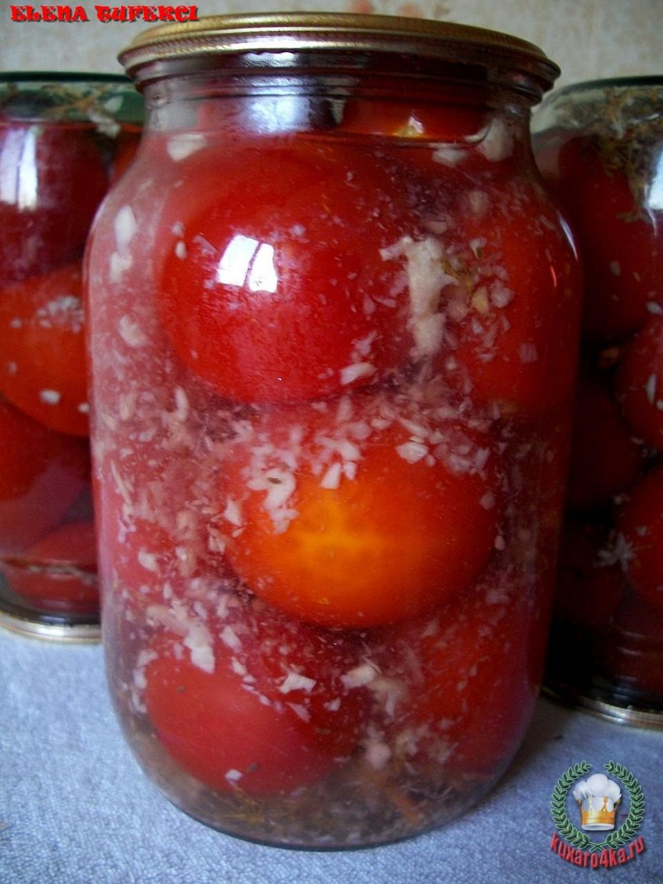 Рецепты помидоров в снегу