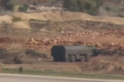 В Сирии засветился ракетный комплекс «Искандер-М»