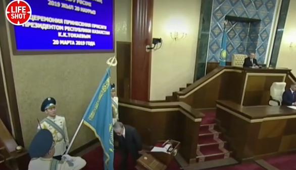 Токаев вступил в должность п…