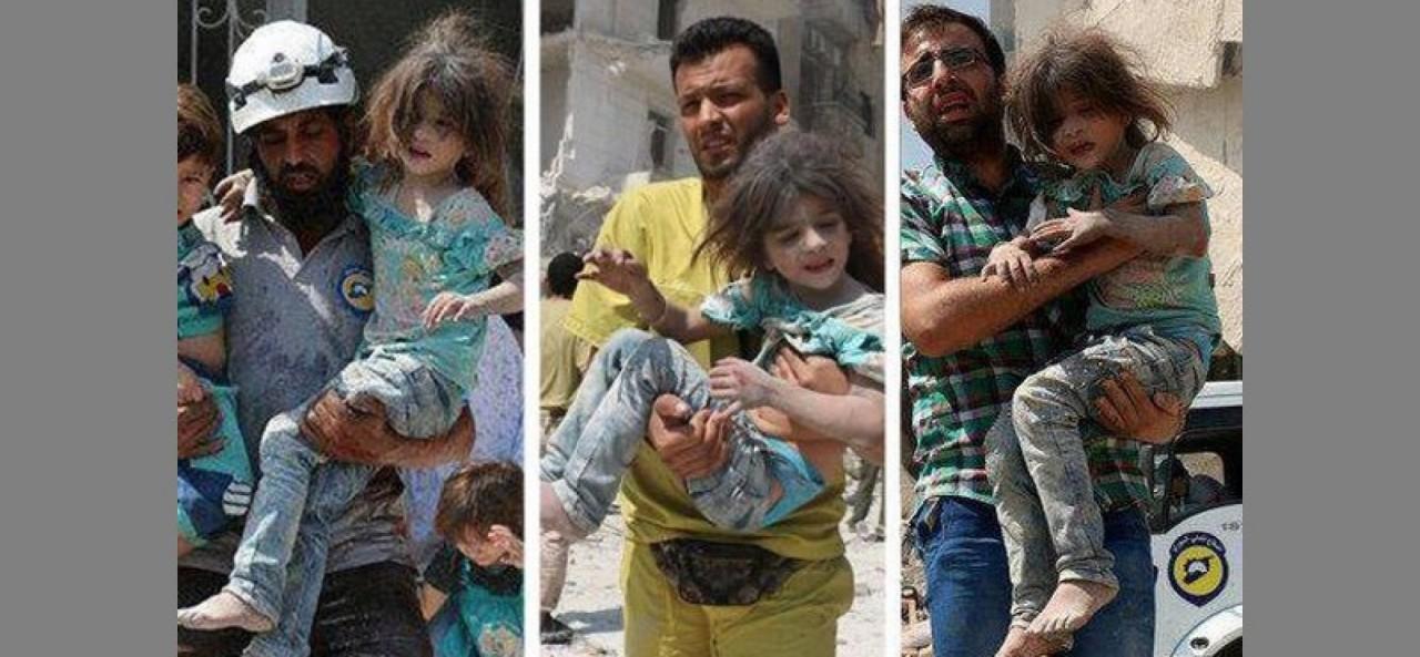 В сеть слили скандальное видео с инсценировкой химатаки в Сирии