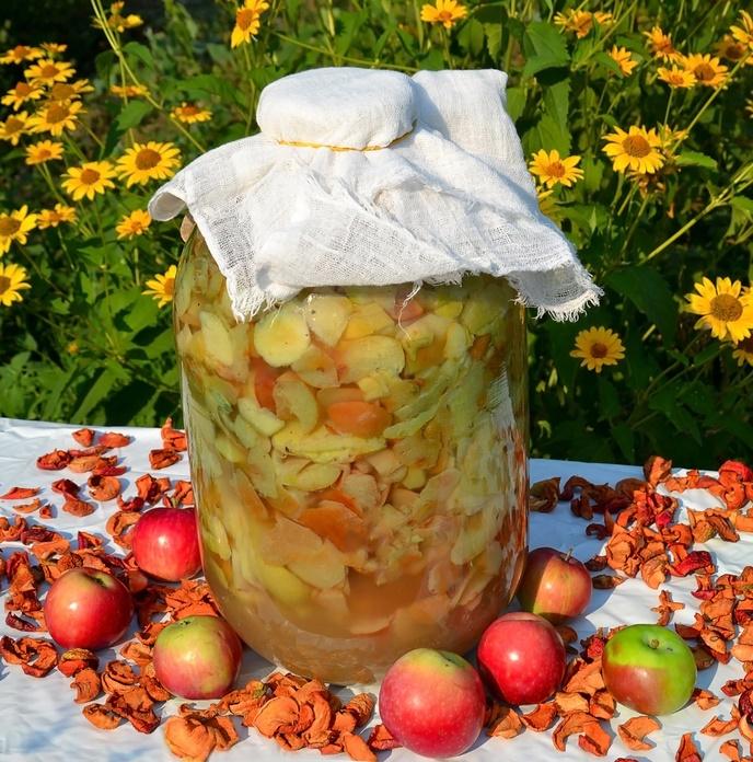 Как приготовить свой собственный яблочный уксус